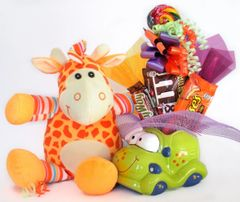 Car Candy Bear Bouquet Groovy Giraffe