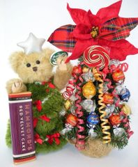 Christmas Candy Bear Bouquet Starla Spruce Truffle Tree