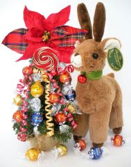 Christmas Candy Bear Bouquet Jingle Belle Truffle Tree