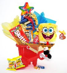 Spongebob Squarepants Candy Bear Bouquet