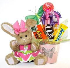 Butterfly Candy Bear Bouquet Layla Butterfly Bunny