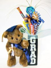 Graduation Candy Bear Bouquet Smarty