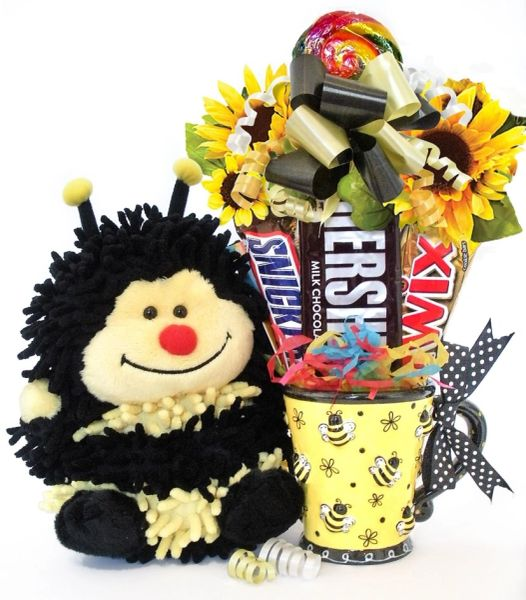 Bee Candy Bear Bouquet Bizzie Bee