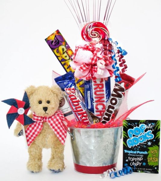 Candy Bear Bouquet Franklin T. Breezly