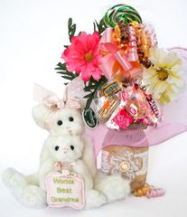 Grandparents Day   Mother's Day Candy Bear Bouquet Granny and Me