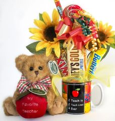 Teacher Candy Bear Bouquet Beary Best Teacher