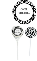 Over the Hill Swirl Lollipop - ADD TO CANDY BEAR BOUQUET