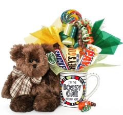 Boss's Day | Administrative Professionals Candy Bear Bouquet Bosco