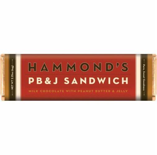 Hammond's PB & J Sandwich Bar - ADD TO CANDY BEAR BOUQUET