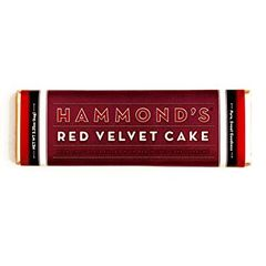 Hammond's Red Velvet Cake Candy Bar - ADD TO CANDY BEAR BOUQUET