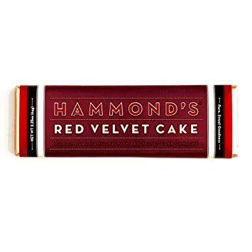 Hammond's Red Velvet Cake Candy Bar - ADD TO CANDY BEAR BOUQUET