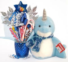 Hanukkah | Christmas Candy Bear Bouquet Neptune Narwhal