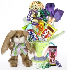 Easter Candy Bear Bouquet Coco Bunny