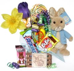 Easter Candy Bear Bouquet Peter Rabbit