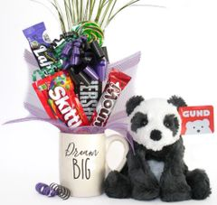 Panda Candy Bear Bouquet Cozys Panda