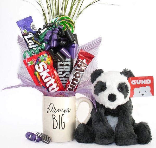 Panda Candy Bear Bouquet Cozys Panda Dream Big