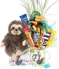Sloth Candy Bear Bouquet Speedy Sloth