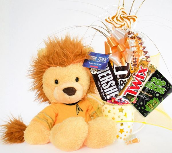 Star Trek Candy Bear Bouquet Captain Kirk