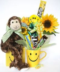 Smiley Candy Bear Bouquet Mo Smiles