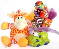 Car Candy Bear Bouquet Groovy Giraffe