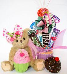 Candy Bear Bouquet Casey Cupcake