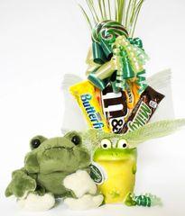 Frog Candy Bear Bouquet Frank