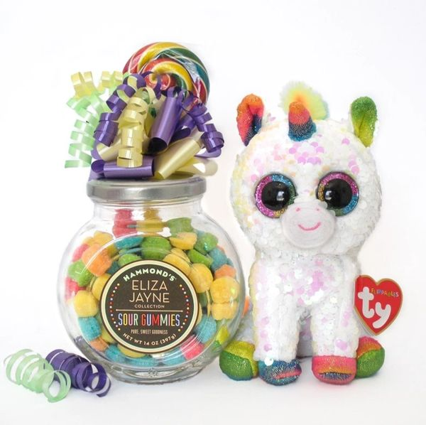 Unicorn Candy Bear Bouquet Pixy Flippable