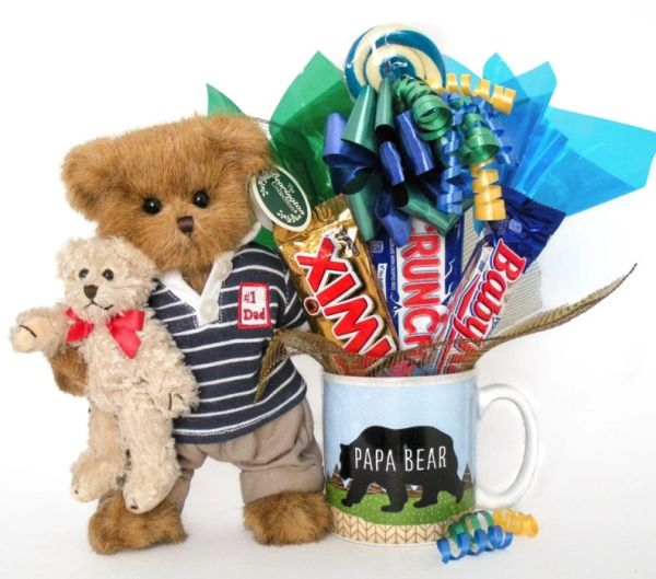 Father's Day | Grandparents Day Candy Bear Bouquet Beary Best Dad