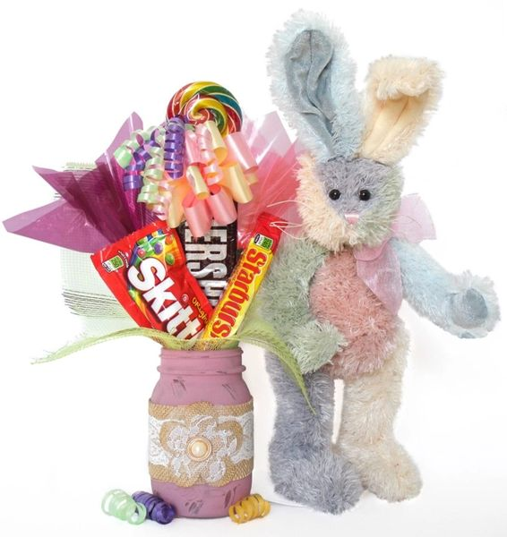 Bunny Candy Bear Bouquet Spumoni