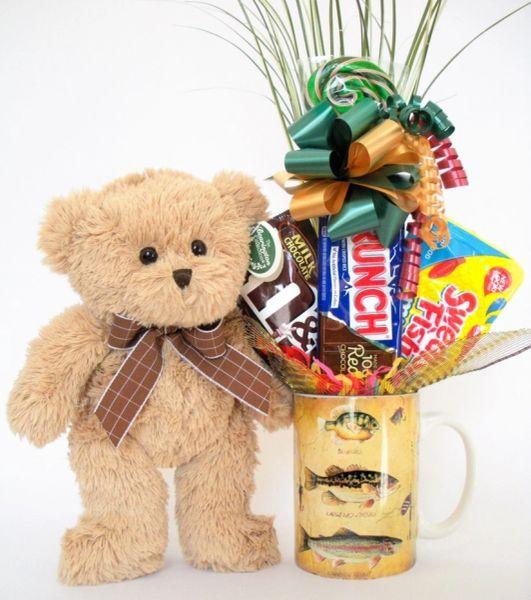 Fishing Candy Bear Bouquet Bensen