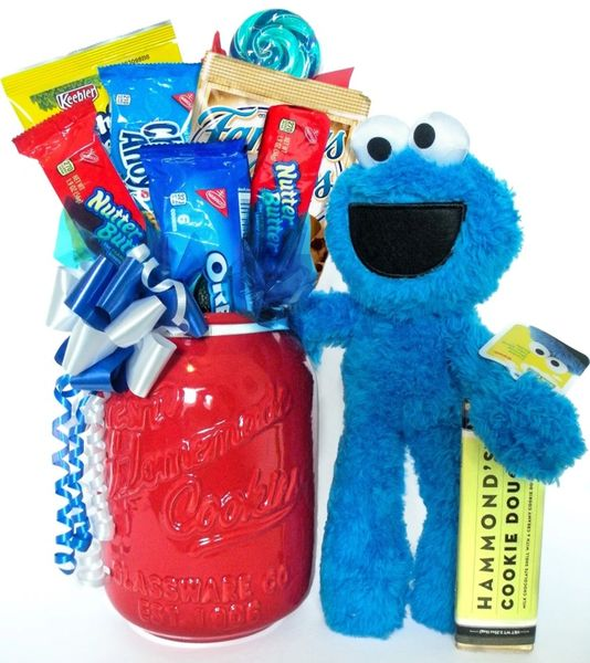 Cookie Monster Cookie Bouquet