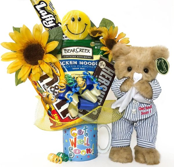 Get Well Candy Bear Bouquet Illie Willie