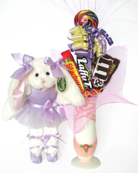 Ballet Candy Bear Bouquet Twirlina Ballerina