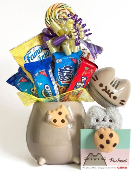 Pusheen the Cat Cookie Jar Cookie Bouquet - SOLD OUT