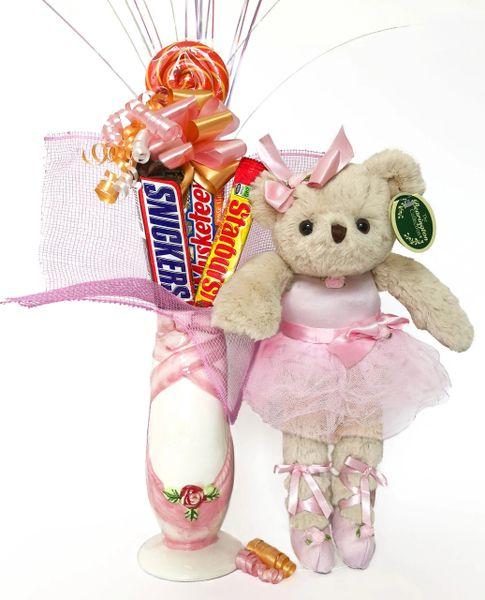 Ballet Candy Bear Bouquet Nina Ballerina