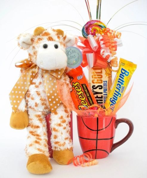 Basketball Candy Bear Bouquet Stretch Giraffe