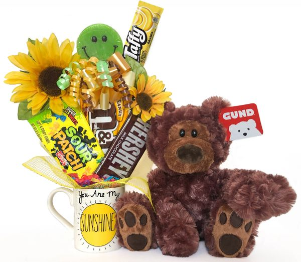 Smiley Sunshine and Moon Candy Bear Bouquet Philbin Bear