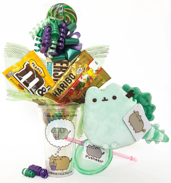 Pusheen Pusheenosaurus Candy Bear Bouquet