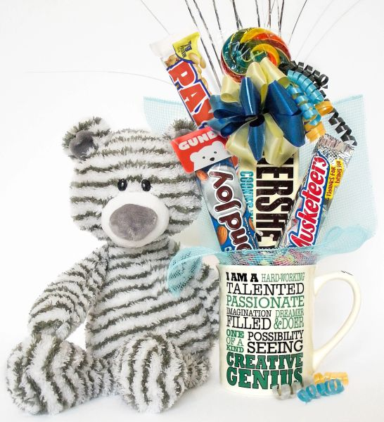 Administrative Professionals Candy Bear Bouquet Zag Creative Genius