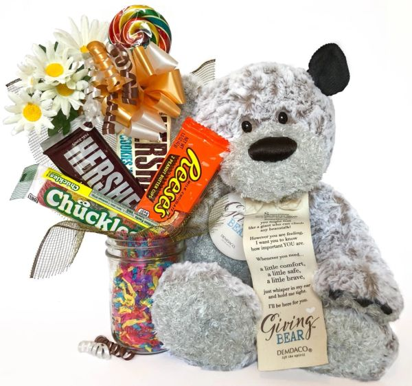 Giving Bear™ Encouragement Candy Bear Bouquet