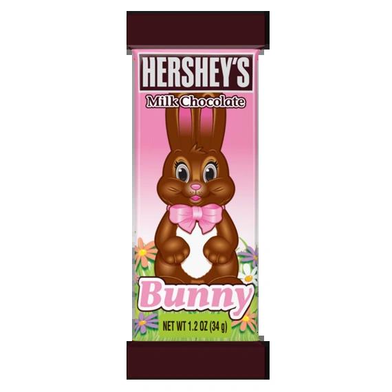 Hershey's Mini Milk Chocolate Bunny - ADD TO CANDY BEAR BOUQUET