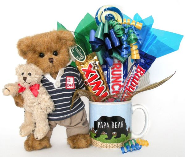 Father's Day | Grandparents Day | New Dad Candy Bear Bouquet Beary Best Dad