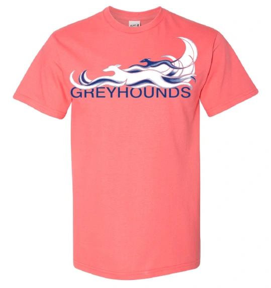 2020 Greyhounds Reach the Beach® Short Sleeved Universal Cut Event Shirt
