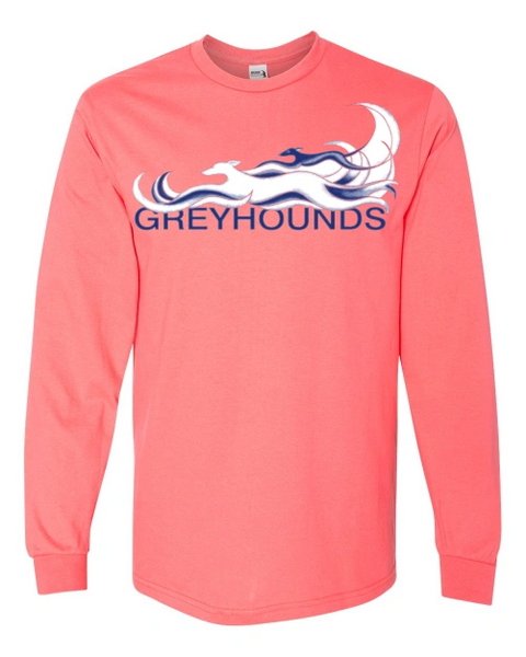 2020 Greyhounds Reach the Beach® Long-Sleeved Universal Cut Custom Event Shirt