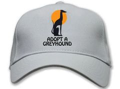 """Adopt a Greyhound"" Cap"