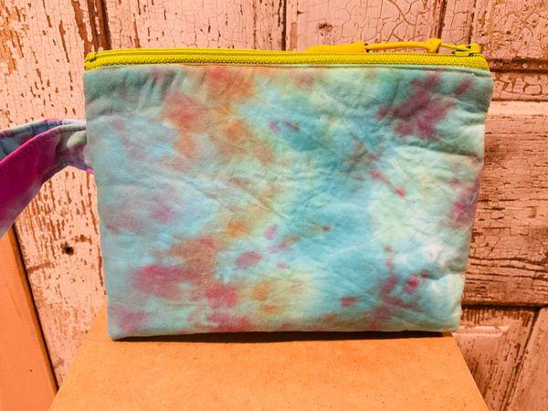 7 inch Tie-Dye zipper bag