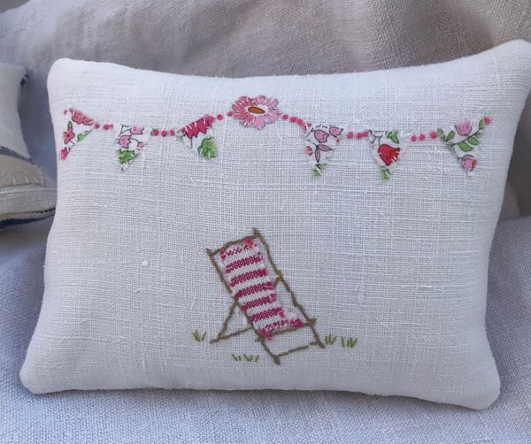 pillow featuring the name PENNY