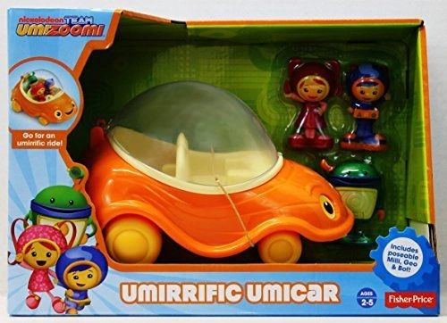 Fisher Price Team Umizoomi Umirrific Umi Car