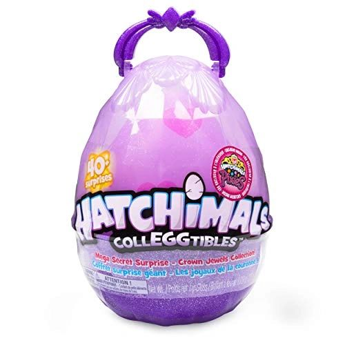 Hatchimals Colleggtibles, Mega Secret Surprise with 10 Exclusive & 1 Pixies Royal