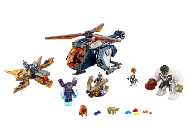 76144 Avengers Hulk Helicopter Rescue